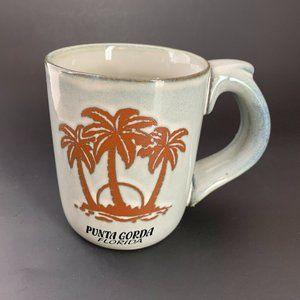 NEW Artsy Souvenir Coffee Mug Punta Gorda FL